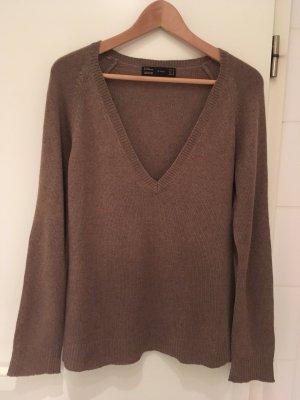Kuscheliger Pullover aus Seide-Kaschmir-Mix von ZARA in Größe 38 (M)