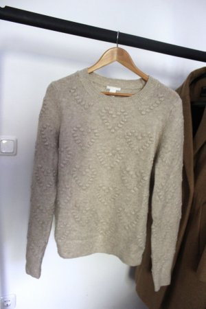 Kuscheliger Pullover in Nude