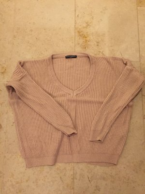 Kuscheliger Pullover in rosa