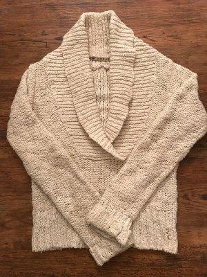 Kuscheliger Pullover in wollweiß von Campus by Marc'O Polo