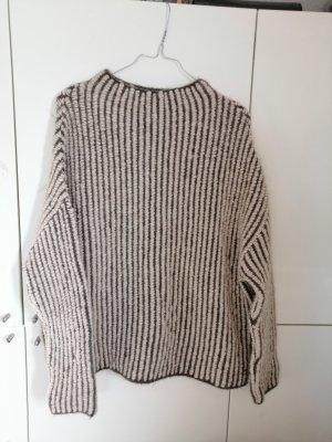 Mango Maglione lavorato a maglia grigio