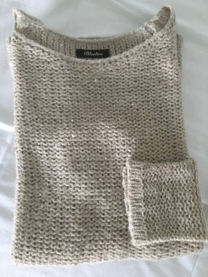 Long Sweater beige polyacrylic