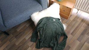 Kuscheliger Pullover von H&M in Grün