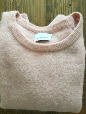 Kuscheliger Pullover von samsøe rosa Größe S