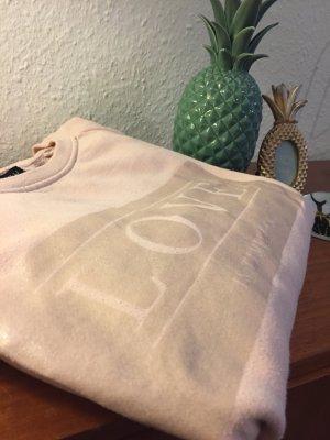 Kuscheliger Rose LOVE Sweater