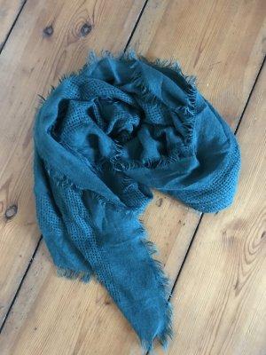 Kuscheliger Schal türkis