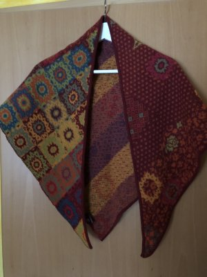 Ivko Sciarpa di lana multicolore