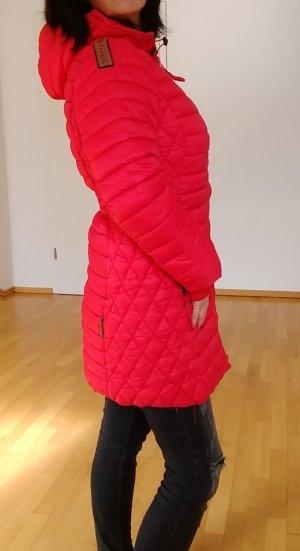 Winter Coat neon red