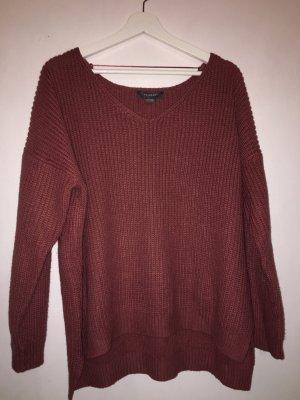 Primark Gehaakte trui lichtrood-roodbruin