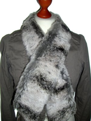 Casual Cravat multicolored fur