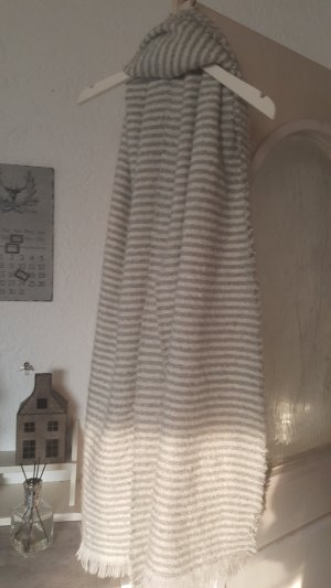 Opus Sjaal lichtgrijs-wolwit
