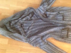 Kuscheliger Woll mantel in grau