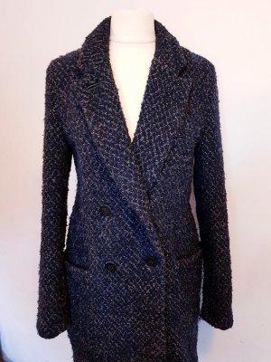 Zara Manteau d'hiver multicolore laine