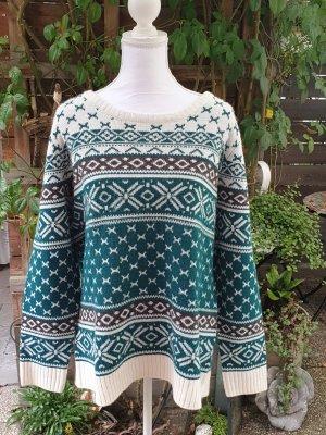 b.p.c. Bonprix Collection Crochet Sweater multicolored