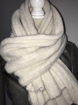 Edc Esprit Bufanda de lana blanco puro