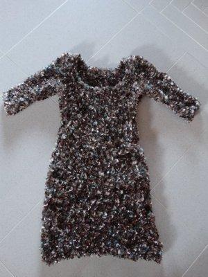 kuscheliges Partykleid - langer Pullover