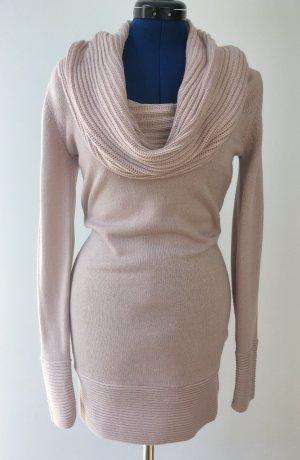 H&M Robe en maille tricotées vieux rose