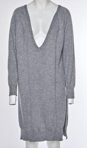 Noisy May Robe en maille tricotées gris-gris foncé polyamide