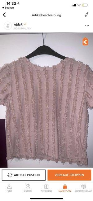 Bershka Boothalsshirt roze