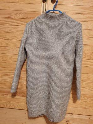 Amisu Abito di maglia grigio chiaro