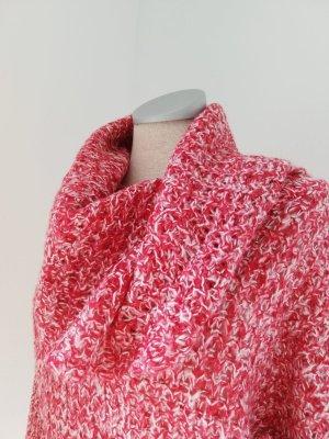 Kuschelpulli Gr. S 36 Vero Moda neu rot weiß Pullover Rollkragen