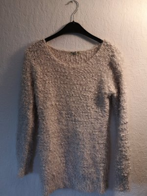Coarse Knitted Sweater natural white-cream