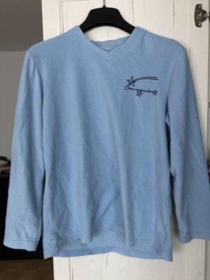 Fleece Jumper azure-blue