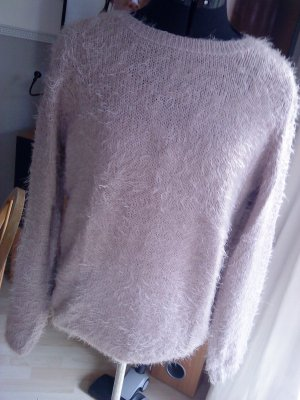 Knitted Sweater mauve-dusky pink