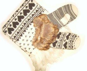 Kuschelstrick! Schal & Handschuhe im Set NEU