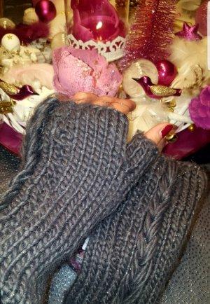 Kuschelweiche Handschuhe, Halbhandschuhe, Armstulpen