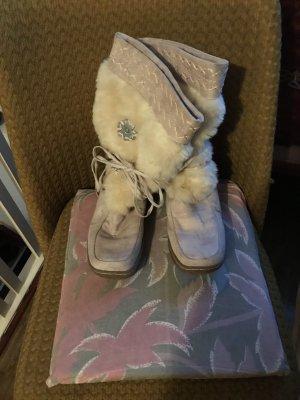 Kuschlig warme Stiefel