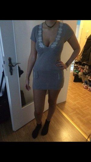 Kuschlig weiches Longtop Minikleid