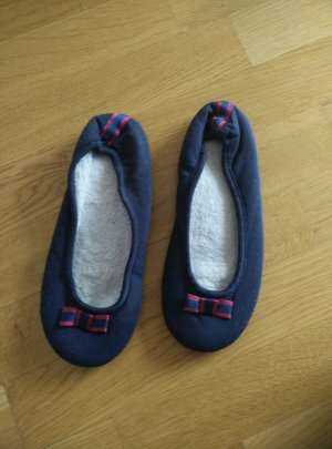 Tchibo / TCM Zapatillas para casa violeta-azul