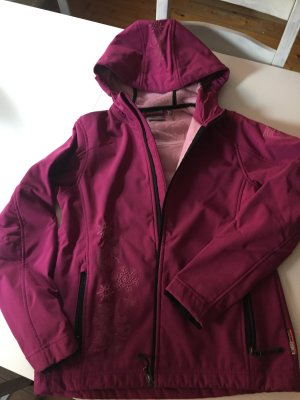 F.lli campagnolo cmp Softshell Jacket light pink-violet
