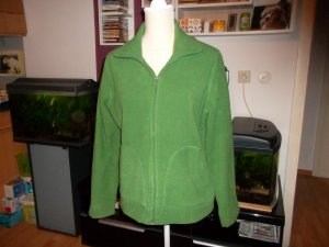 Fleece vest bos Groen