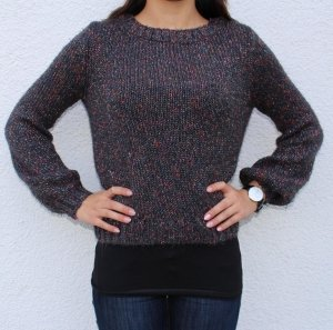 Kuschliger H&M Pullover dunkel