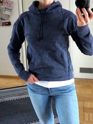 Adidas Jersey con capucha azul oscuro-azul