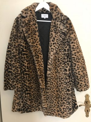 Fake Fur Coat multicolored