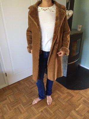 Uhle Cappotto invernale color cammello