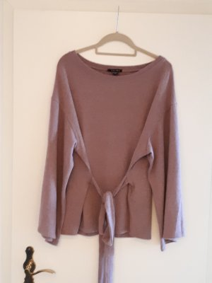Amisu Kimono Sweater rose-gold-coloured mixture fibre