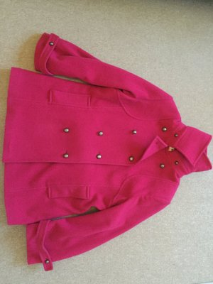 Heavy Pea Coat magenta