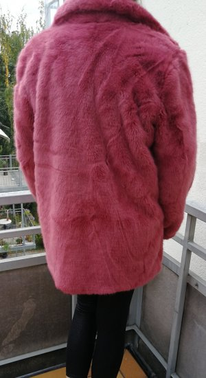 Only Fake Fur Coat light pink-pink