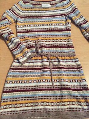 Kuschliges bequemes Kleid, schöne Farben; H& M L.O.G.G. Gr. S