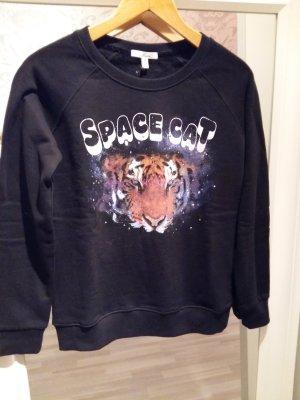 Kuschliges Sweatshirt mit Tigerprint Gr. M