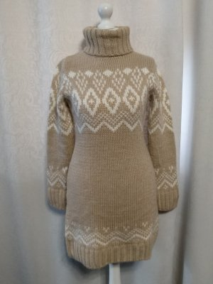 Esprit Knitted Dress natural white-nude