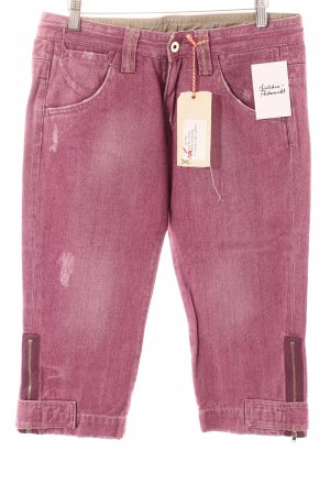 Kuyichi 3/4 Jeans violett Casual-Look