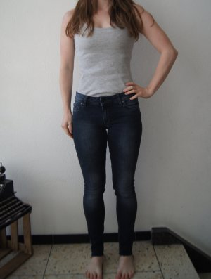 Kuyichi Jeans Linda Skinny Röhrenjeans Röhrenhose Denim W26 L32