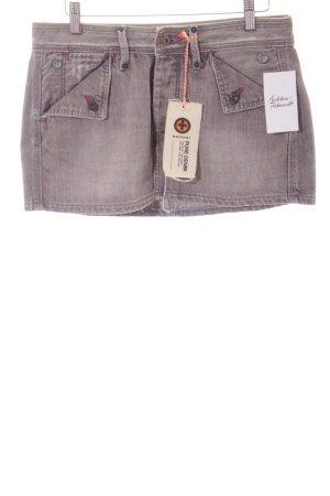 Kuyichi Jeansrock grau Street-Fashion-Look