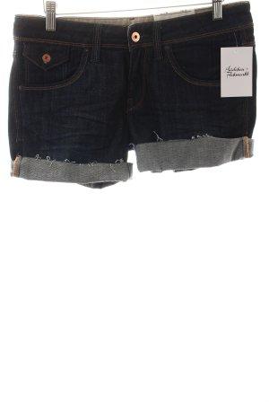 Kuyichi Short en jean bleu foncé style décontracté