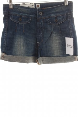 Kuyichi Shorts blue-brown casual look